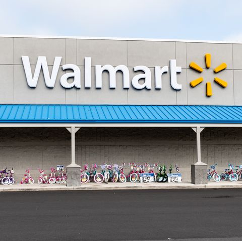 Walmart store in North Brunswick Township, New Jersey