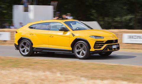 The Lamborghini Urus