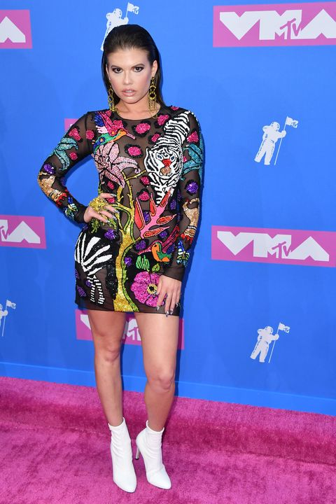 The Most Naked Dresses From 2018 Mtv Vma Red Carpet Mtv