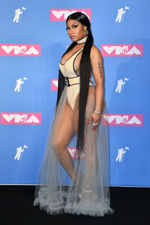 6015b90cde0 The Most Naked Red Carpet Outfits of 2018 - Celebs in Sheer
