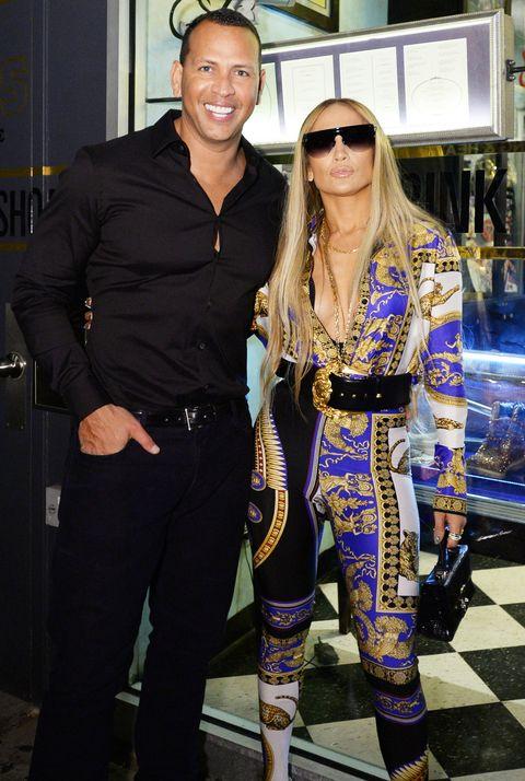 Jennifer Lopez's MTV VMA's Vanguard Award Celebration At Beauty & Essex In NY