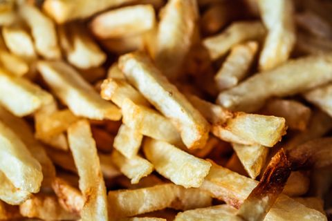 French fries, food photography