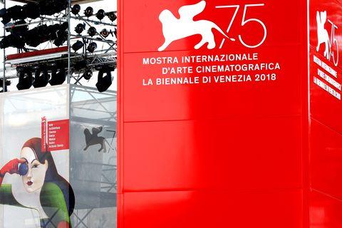 Preparations - 75th Venice Film Festival