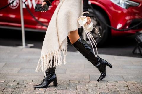 White, Red, Footwear, High heels, Street fashion, Leg, Fashion, Pink, Boot, Shoe,