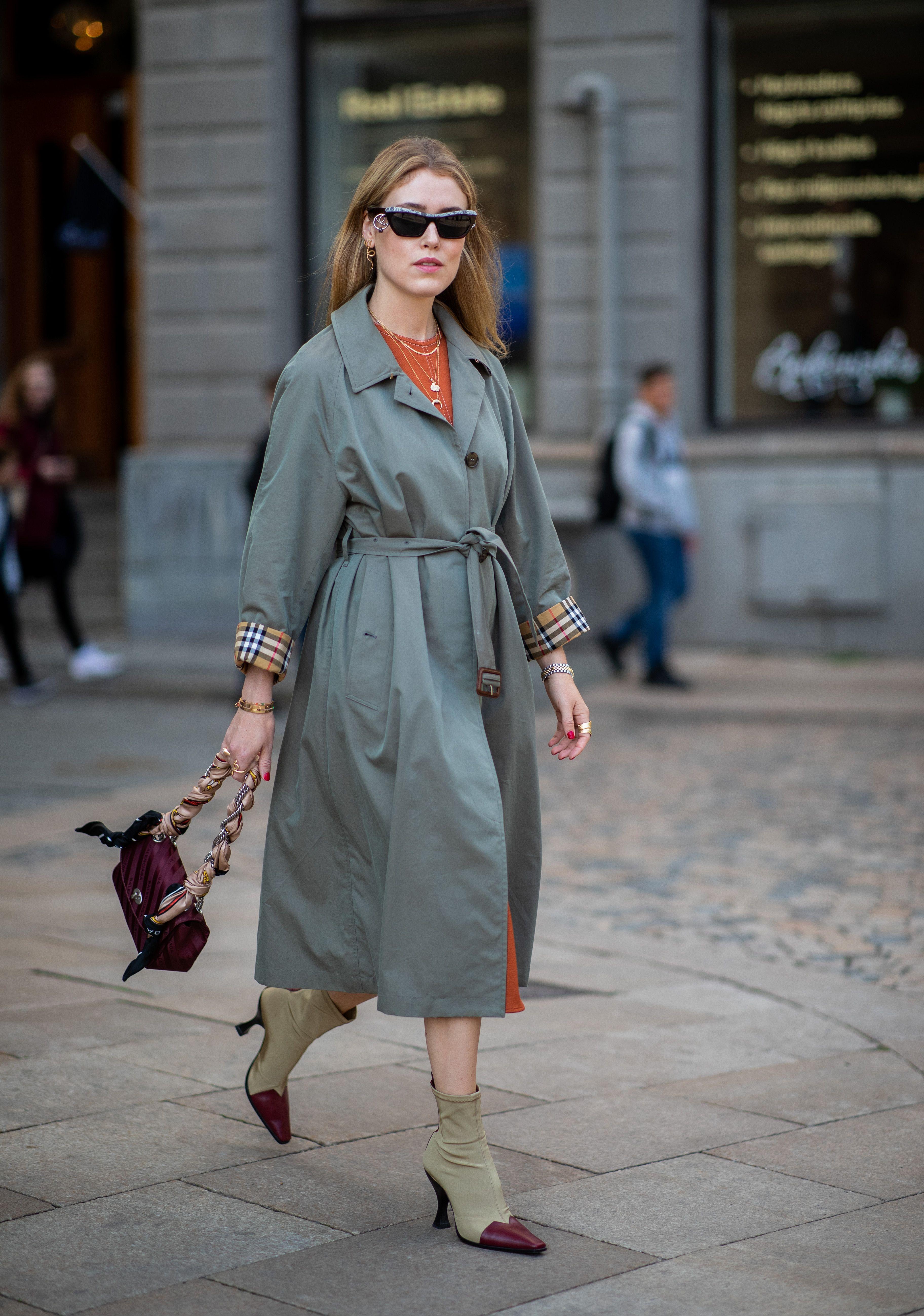 moda trench autunno 2018, come indossare il trench