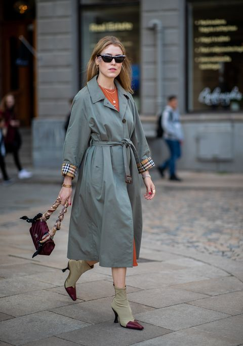 moda trench autunno 2018, come indossare il trench
