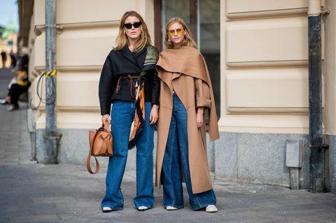 Street fashion, Photograph, Fashion, Clothing, Snapshot, Standing, Outerwear, Human, Urban area, Street,