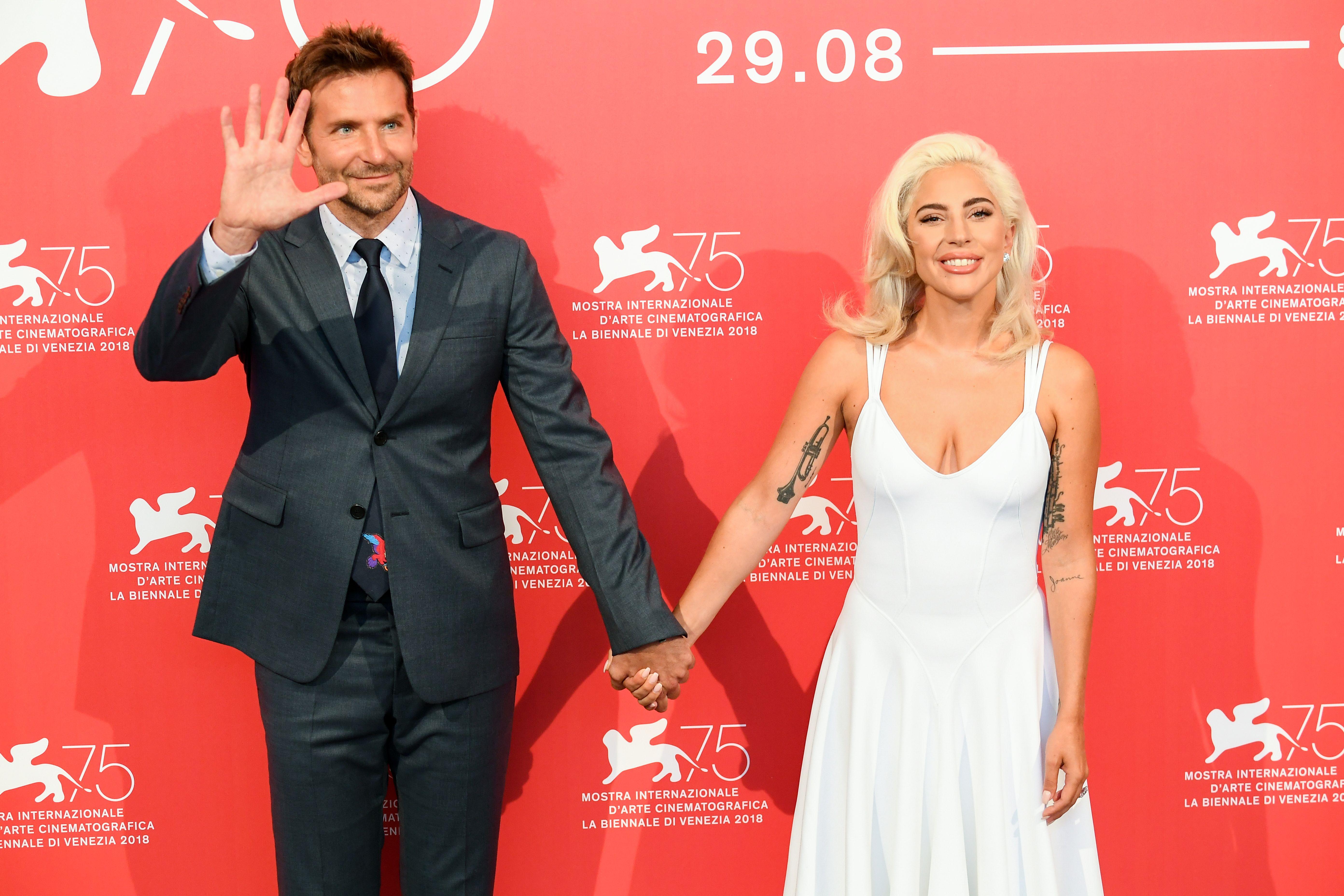 A Star Is Born Photocall - 75th Venice Film Festival