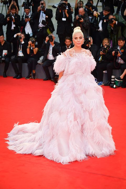 venice, italy   august 31  lady gaga walks the red carpet ahead of the a star is born screening during the 75th venice film festival at sala grande on august 31, 2018 in venice, italy  photo by stephane cardinale   corbiscorbis via getty images
