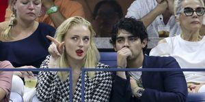 Sophie Turner Joe Jonas US Open