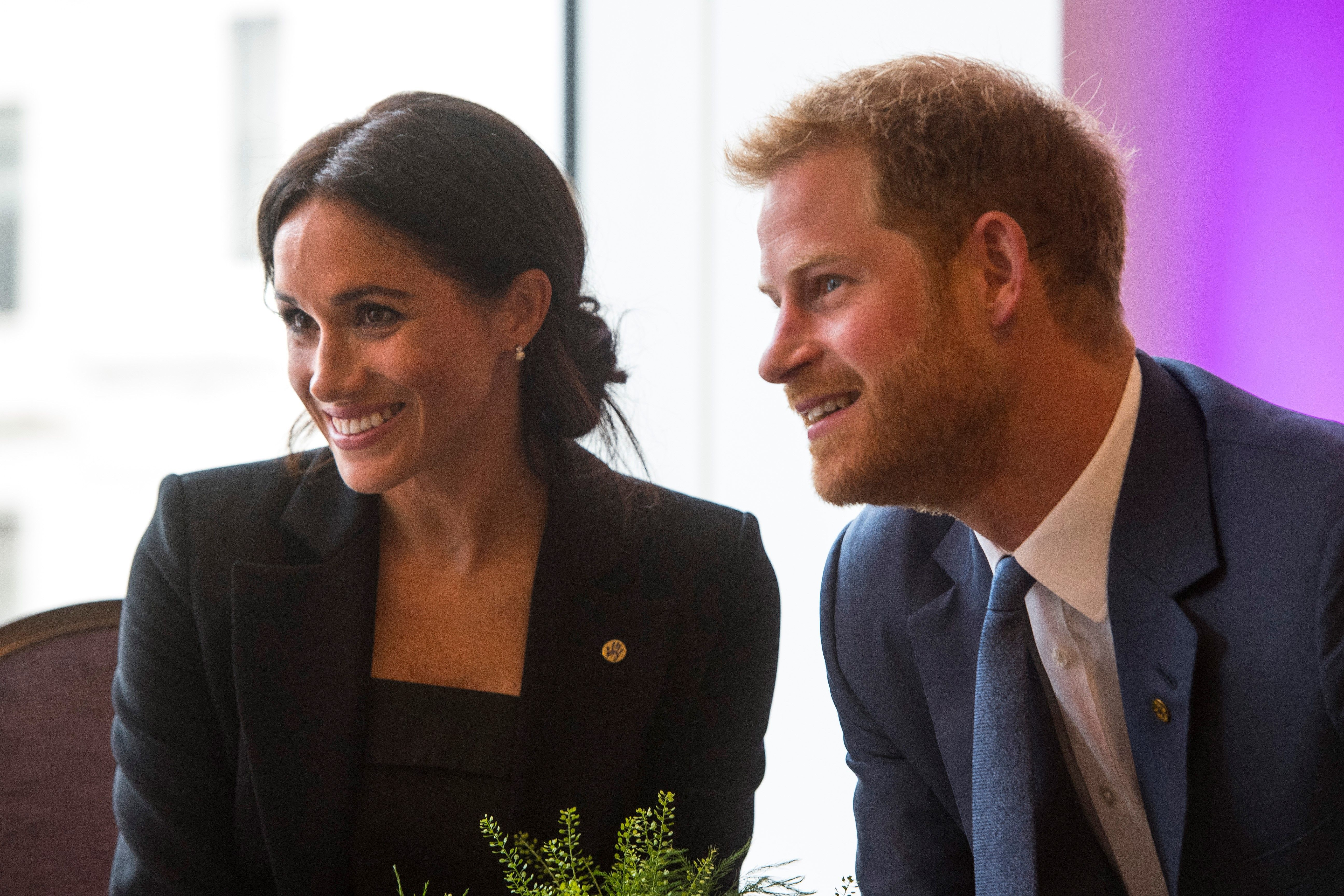 Prince Harry and Meghan Markle attend WELLCHILD-AWARDS