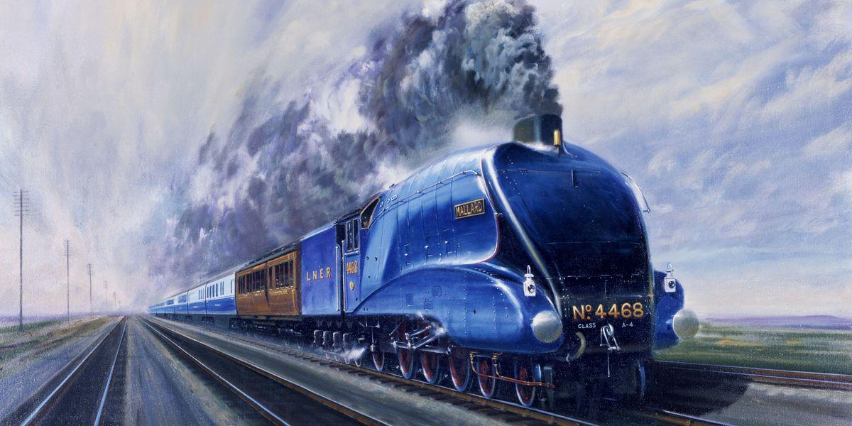 Why the 4468 Mallard Is a Badass Train | 4468 Mallard History