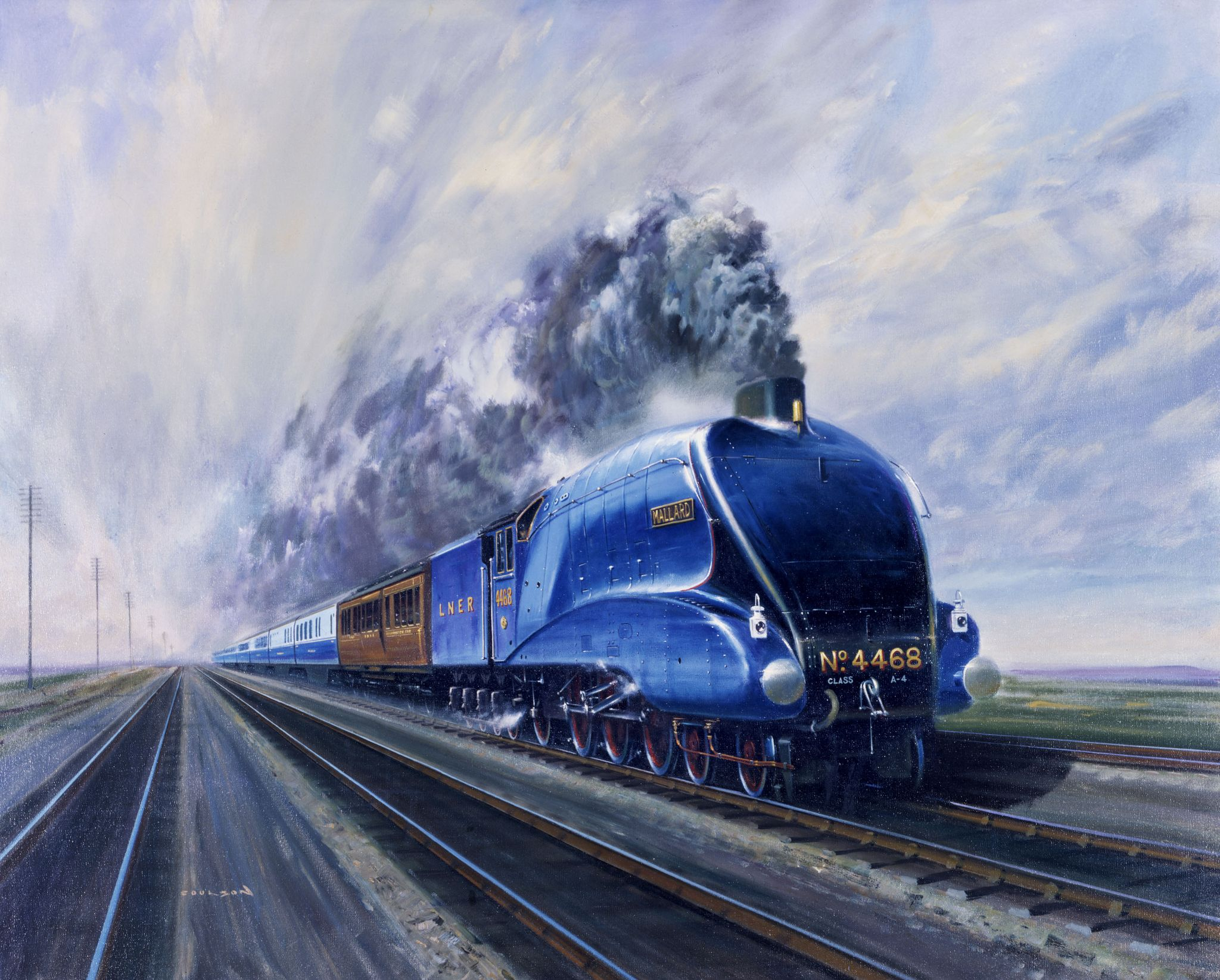 Why the 4468 Mallard Is Such a Badass Train