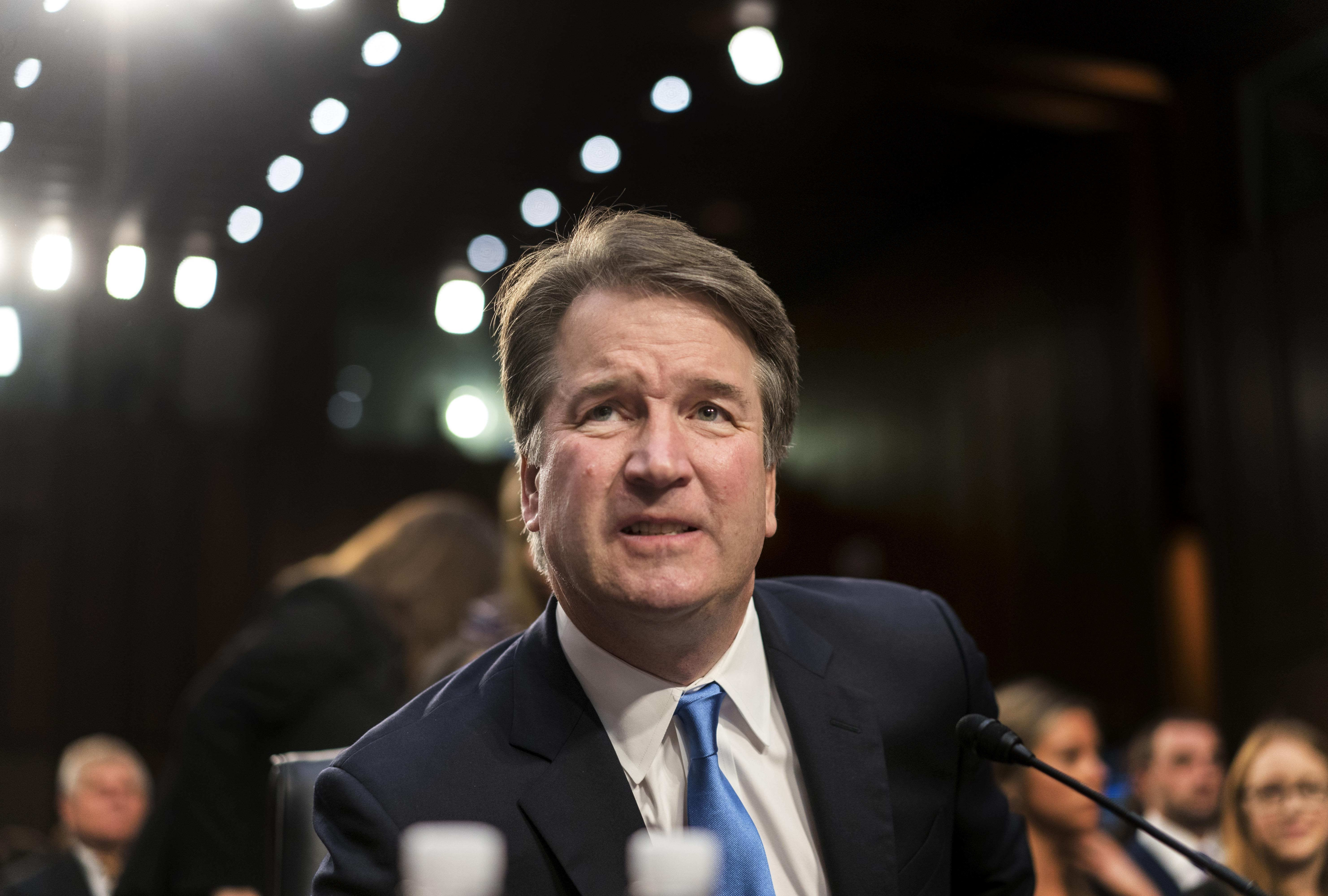 Brett Kavanaugh Stumbles Under Kamala Harris Questioning Corey Booker And Democrats On Confidential Documents
