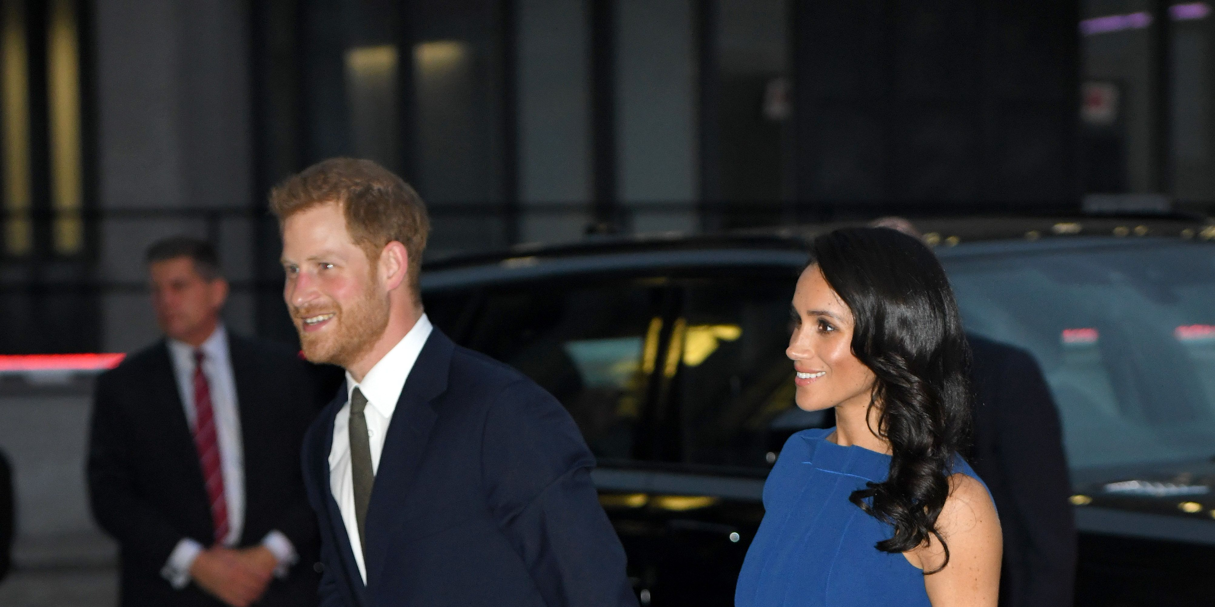 "The Duke & Duchess Of Sussex Attend ""100 Days To Peace"" Commemorative Concert"