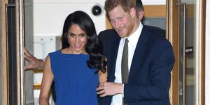 """The Duke & Duchess Of Sussex Attend """"100 Days To Peace"""" Commemorative Concert"""