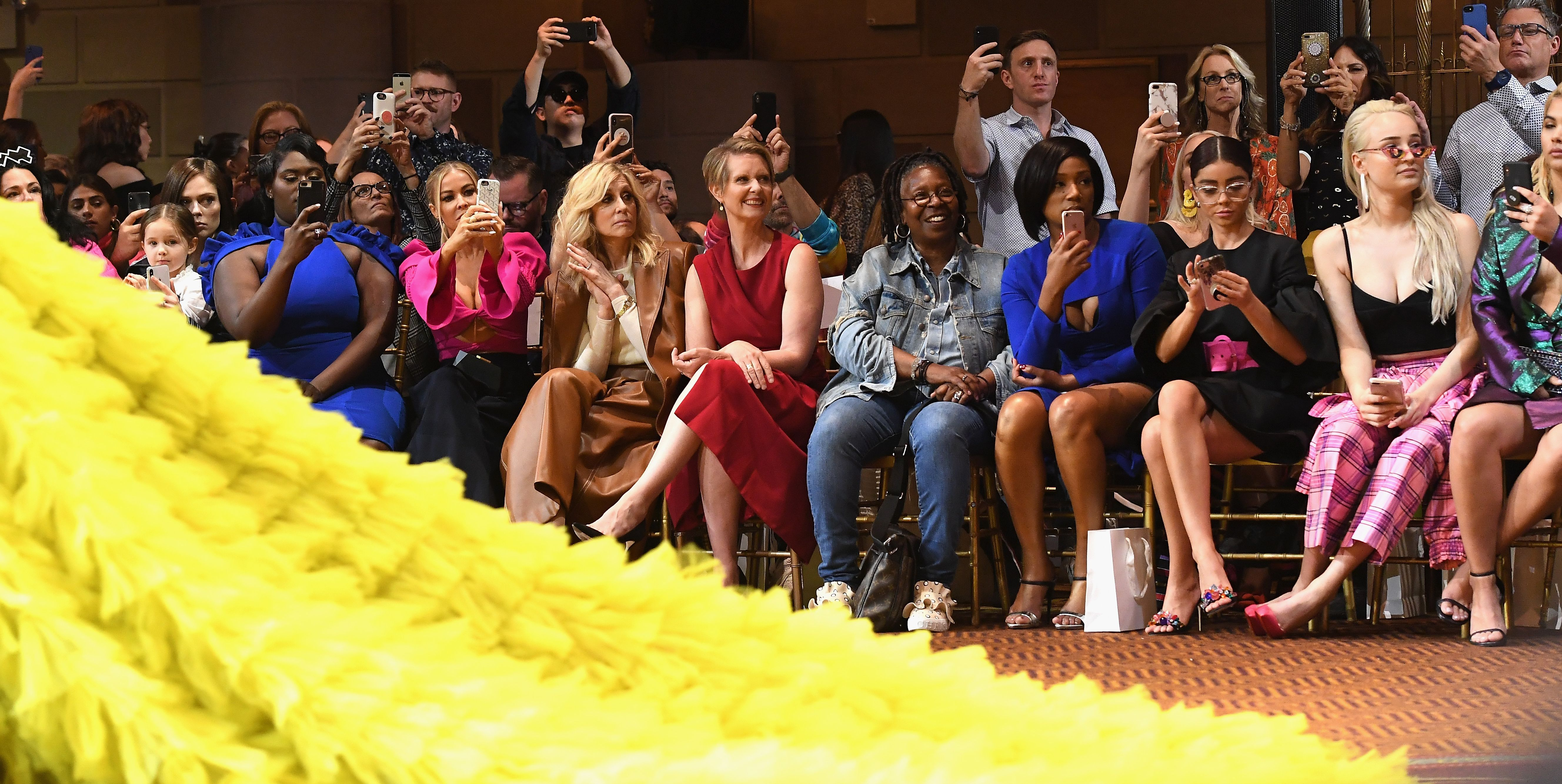 Christian Siriano - Front Row - September 2018 - New York Fashion Week: The Shows