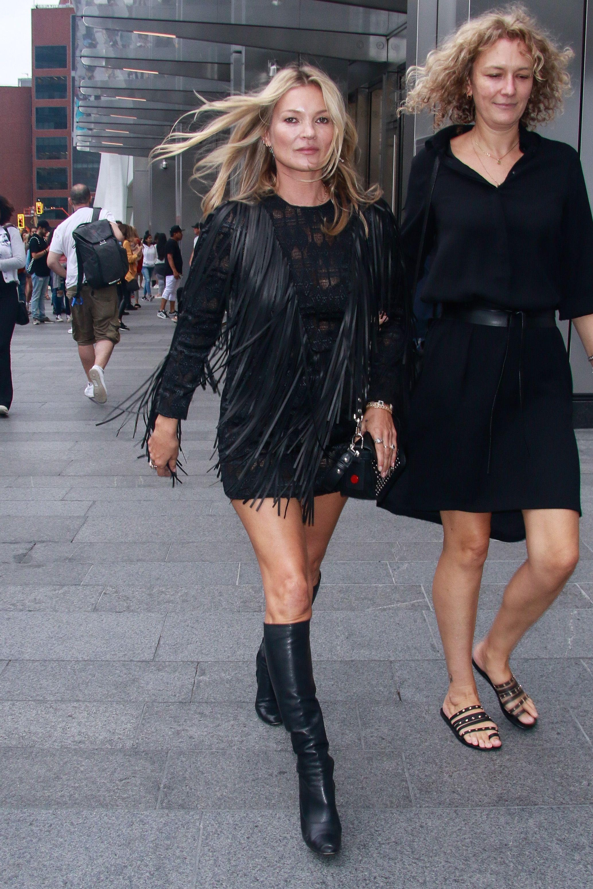 Celebrity Sightings In New York - September 08, 2018