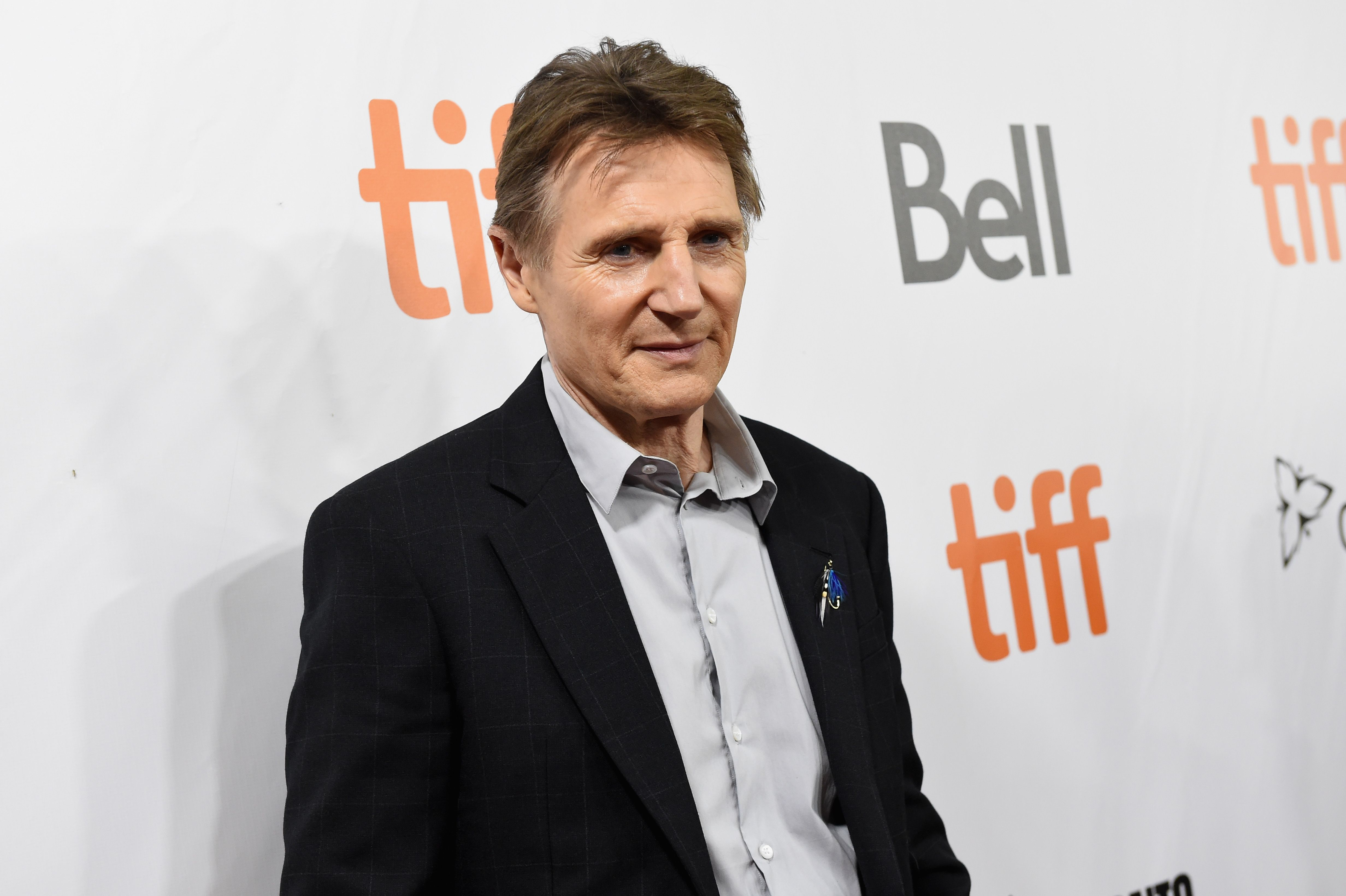 Liam Neeson at 66 Even in his 60s, Neeson still does some of his own stunts in action movies like Taken and The Commuter .