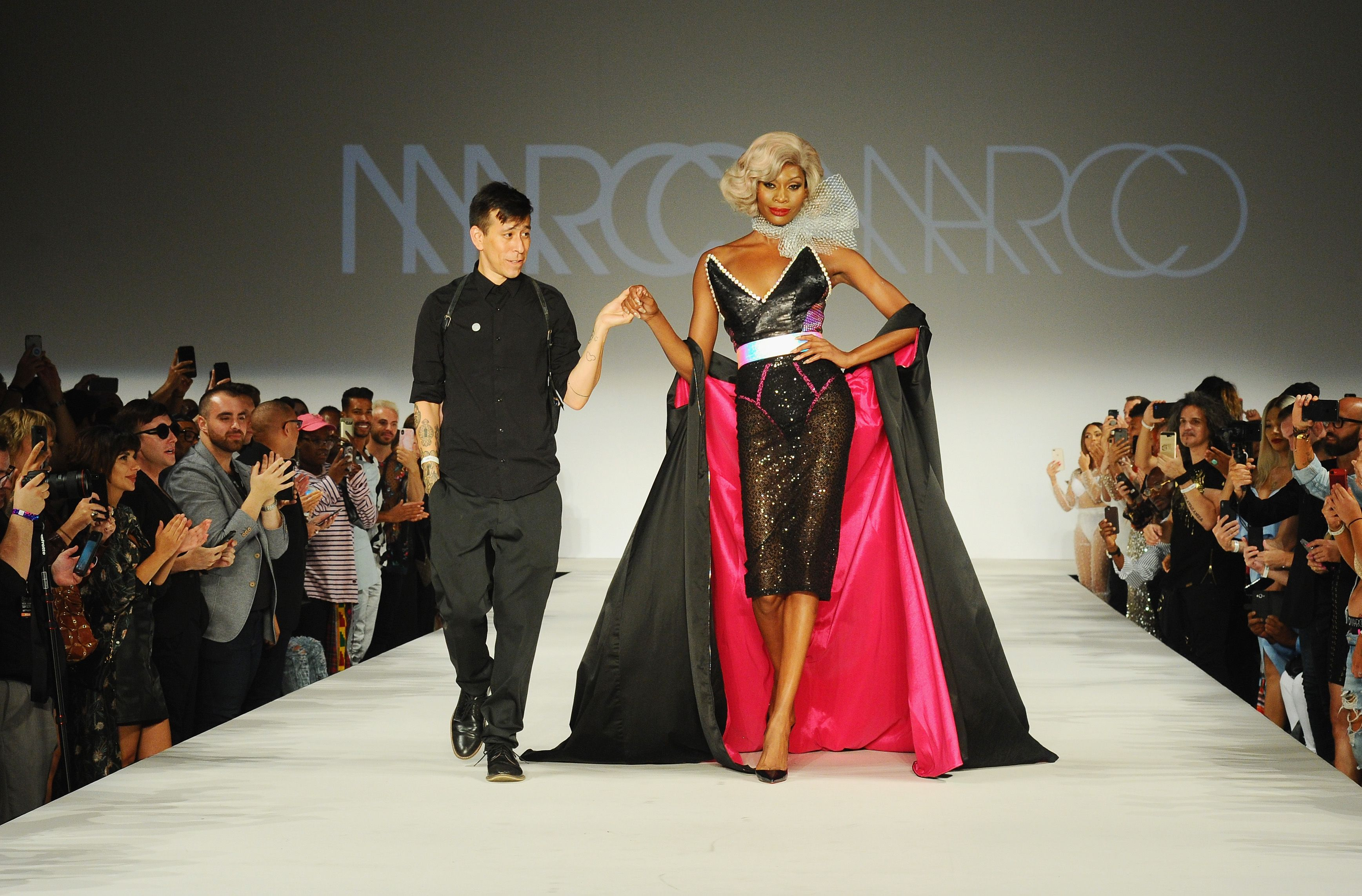 The Marco Marco Runway Show Featured All Trans Models d3dacec5e263