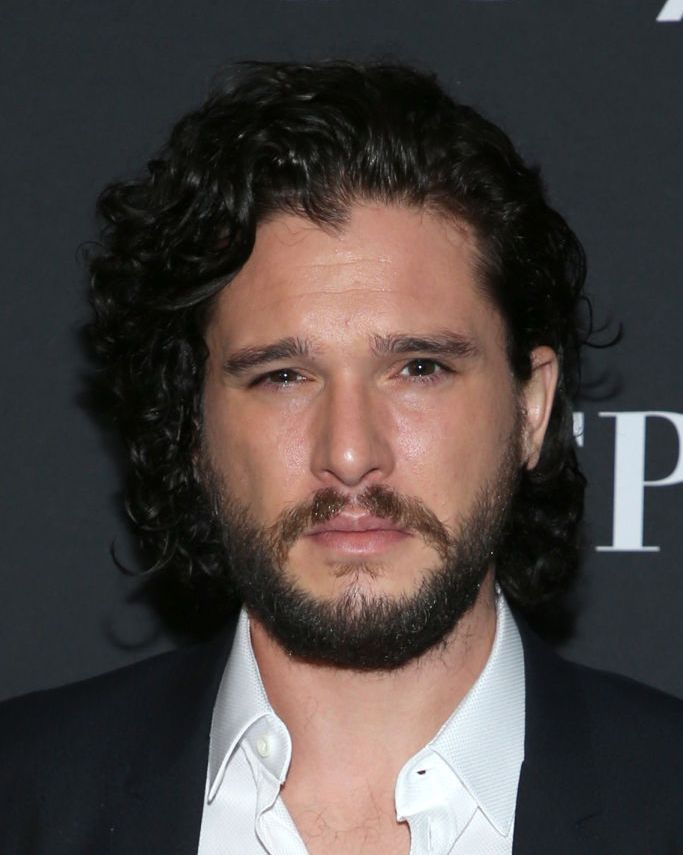 Kit Harington (and beard) All this talk about Jon Snow knowing nothing, and yet his grooming skills make us all look like bastards and broken things.