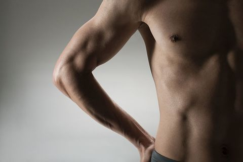 Male breast cancer symptoms