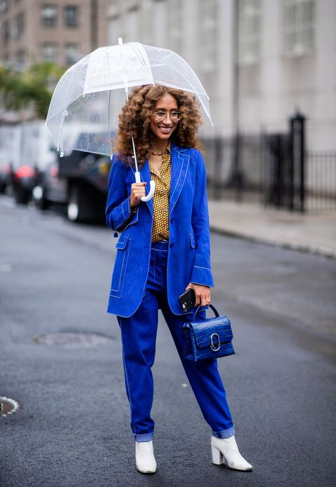 Street Style - New York Fashion Week September 2018 - Day 6