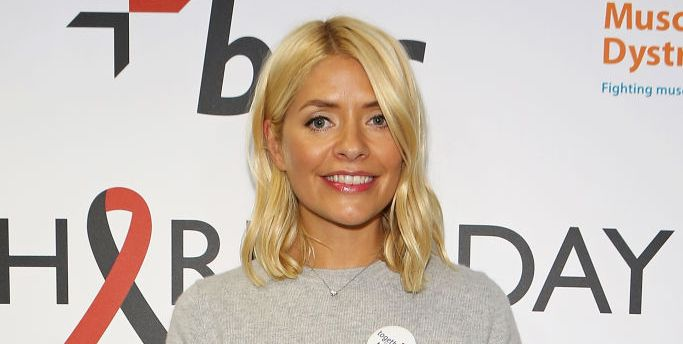 Holly Willoughby wears perfect WFH jumper
