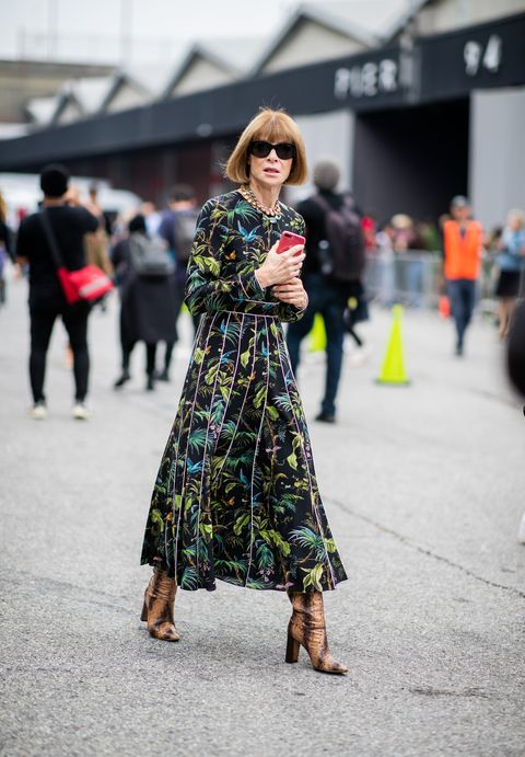 Anna Wintour New York Fashion Week