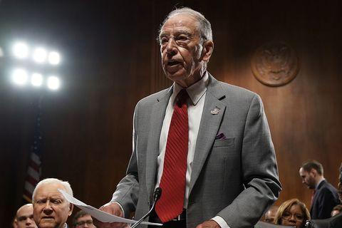 Senate Judiciary Committee Meets To Vote On Supreme Court Nominee Kavanaugh
