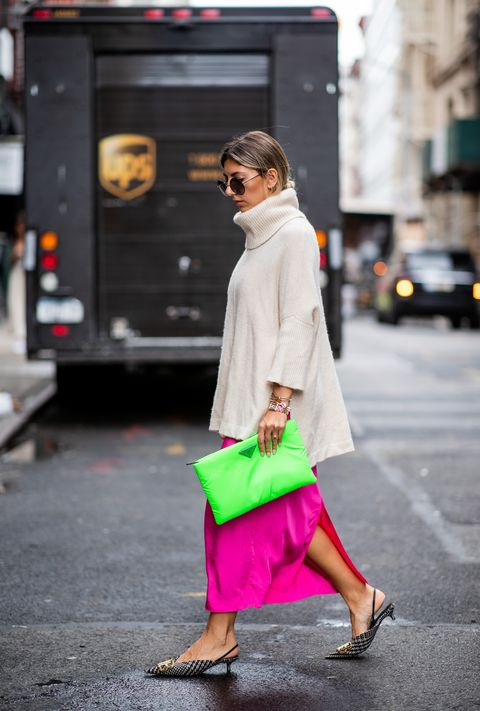 New York Fashion Week neon trend lente/zomer 2019