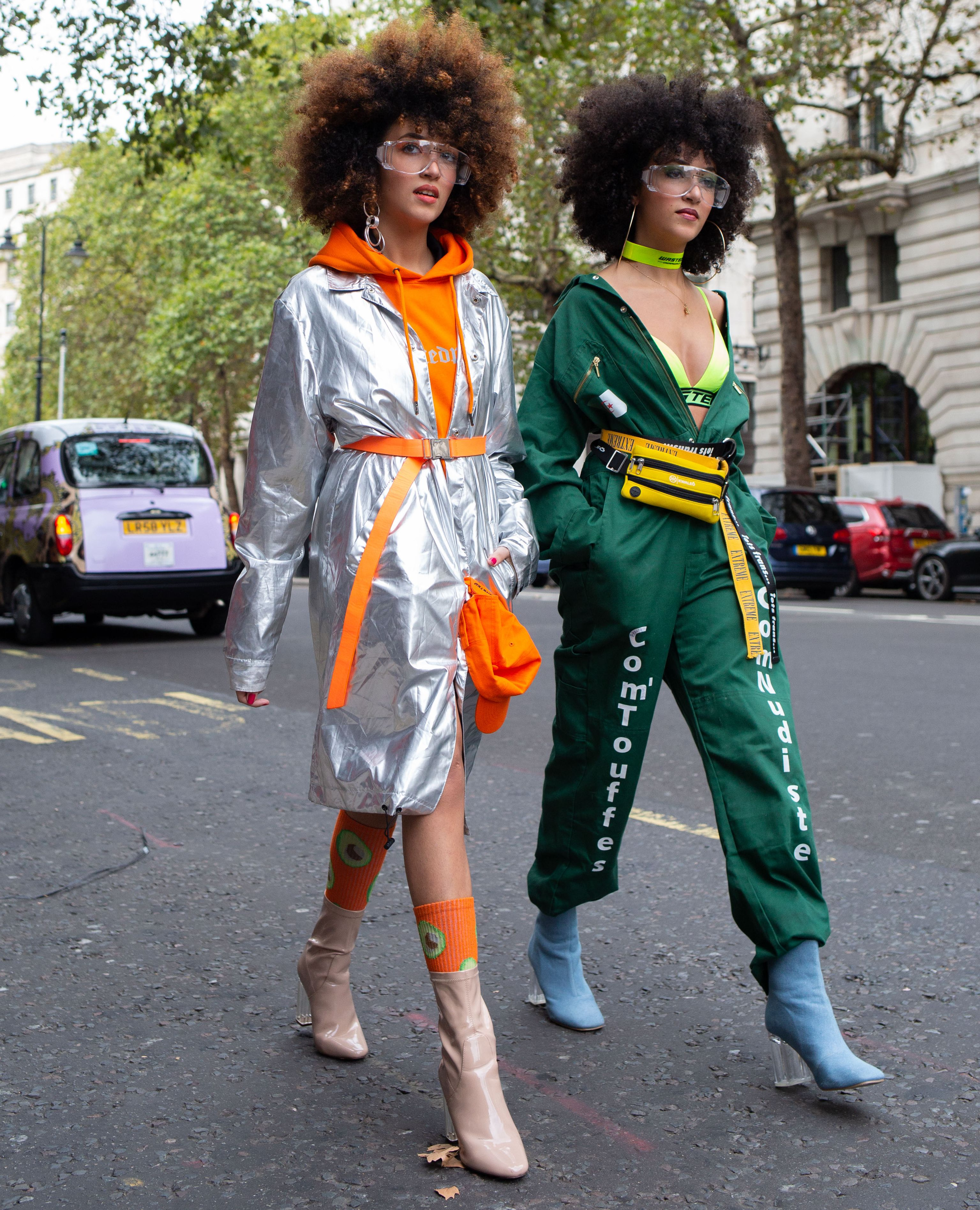 Street Style - London Fashion Week September 2018