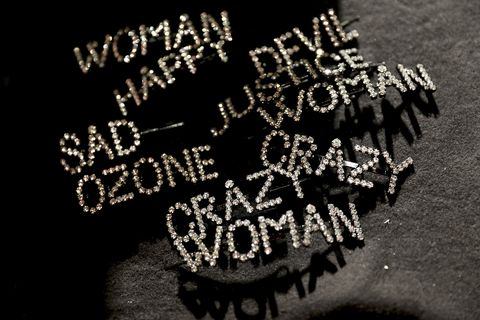 Ashley Williams - Backstage - LFW September 2018