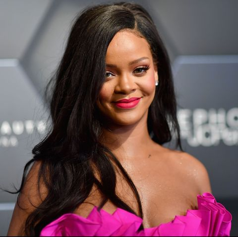 Rihanna Debuts Red Box Braids Just In Time For Summer