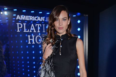 Alexa Chung London Fashion Week After Party