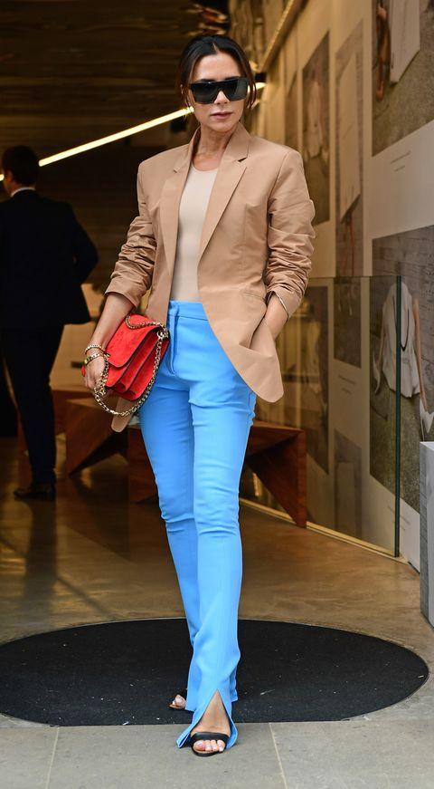 Victoria Beckham, suit, Victoria Beckham pak