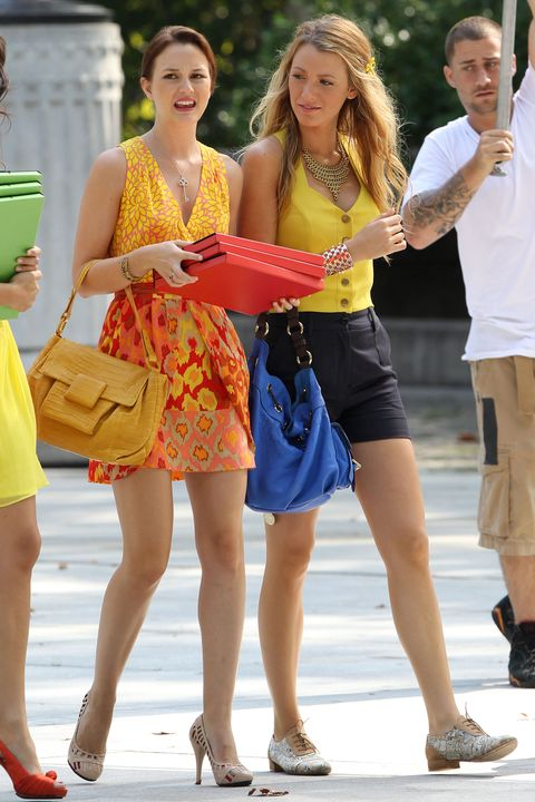 blake lively and Leighton Meester