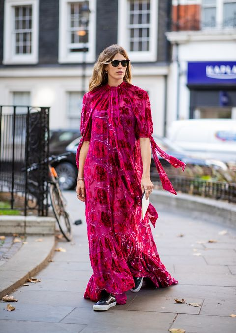 30d61ba33589fb Londen Fashion Week Lente/Zomer 2019: streetstyle