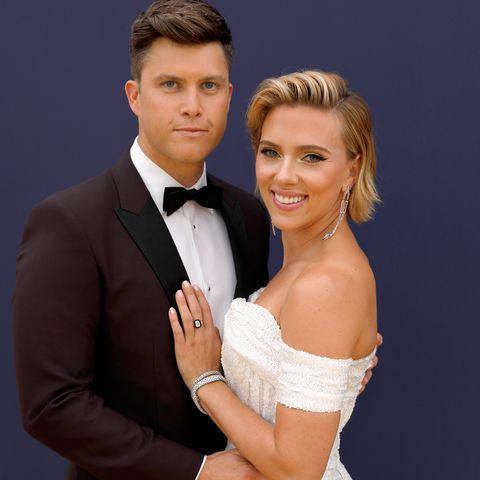 Scarlett Johansson's Massive $400,000 Engagement Ring Is a Full 11 Carats
