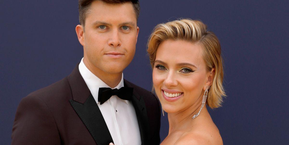 Scarlett Johansson And Colin Jost Are Engaged Scarlett Johansson Marrying Snl Star Boyfriend