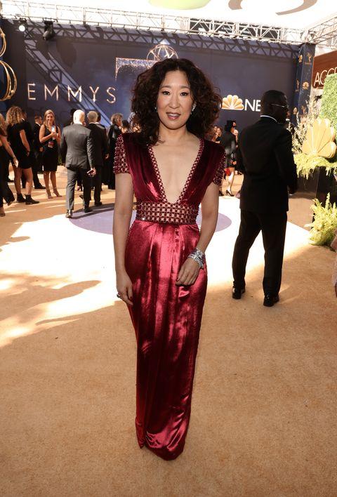 5cc9834dfe7 Emmys 2018 Best Dressed Celebrities - Emmy Awards Red Carpet Looks