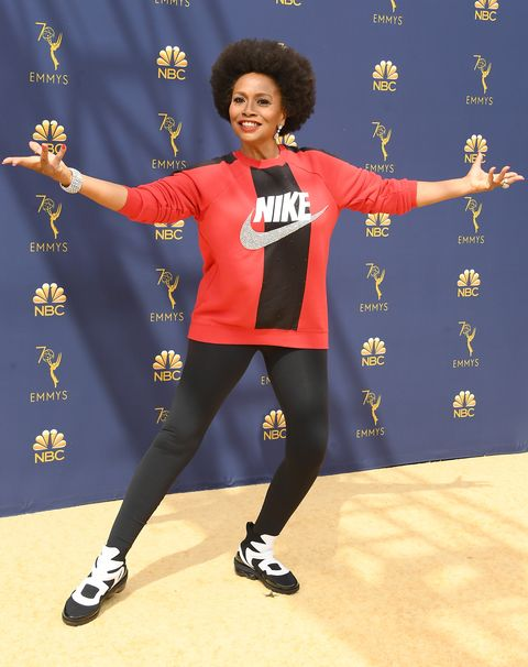 c677f2a21e239 Jennifer Lewis Wears Nike at the 2018 Emmys to Show Her Support For ...