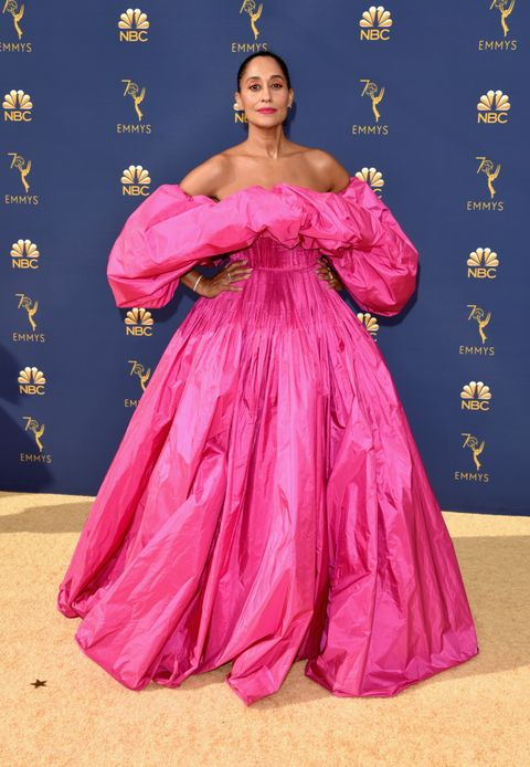 Tracee Ellis Ross Practically Just Invented Wearing Hot Pink For The