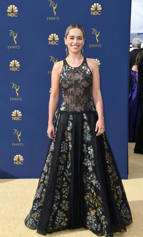 9 Sexy Naked Looks From The 2018 Emmy Awards Red Carpet