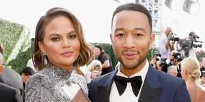 Chrissy Teigen and John Legend at Emmy Awards 2018