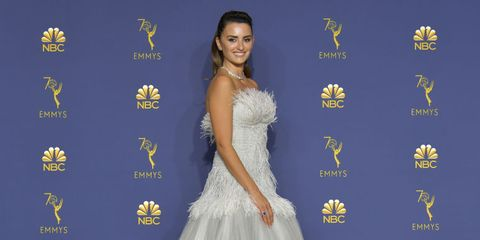 Penélope Cruz - Alfombra roja Emmys 2018