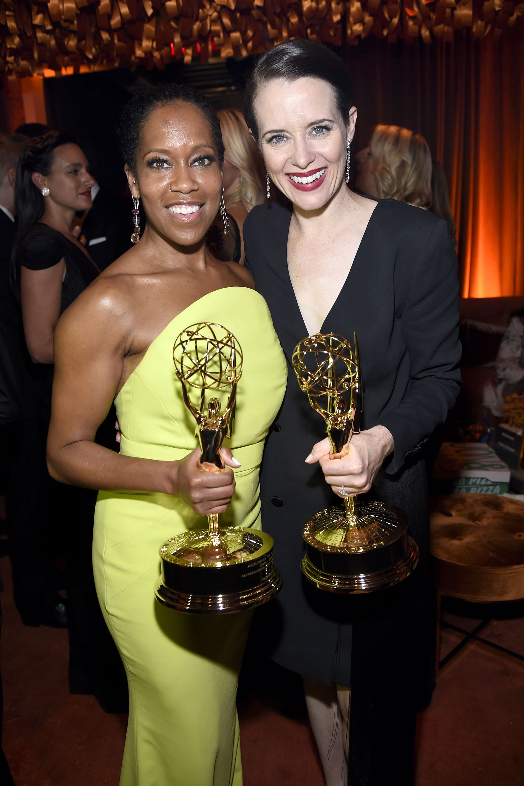 Regina King and Claire Foy