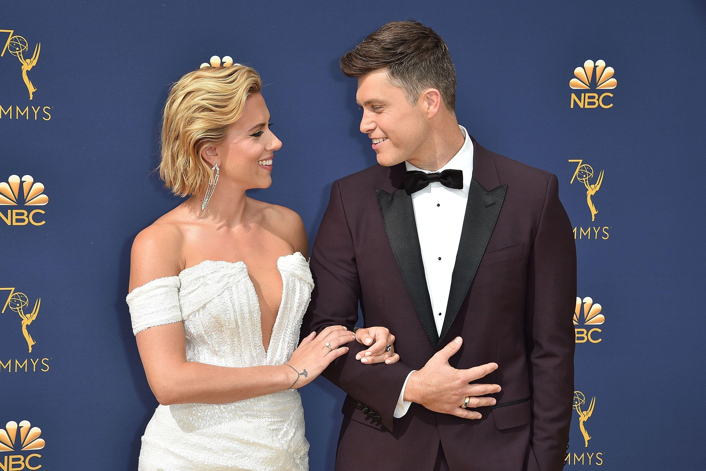 Scarlett Johansson And Colin Jost Dating Timeline Who Is Scarlett Johansson S Husband