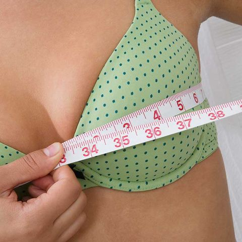 shrinking breast size