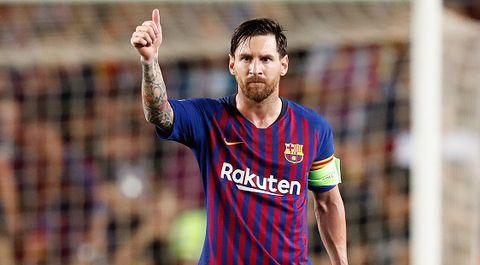 Messi. Champions League